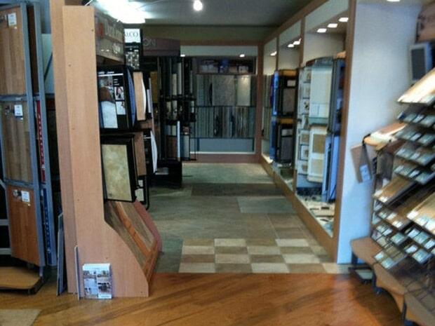 Flooring showroom in Hesperia MI from Herb's Carpet & Tile