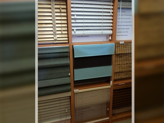 Window blinds in White Cloud MI from Herb's Carpet & Tile