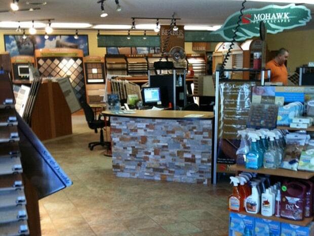 Flooring showroom in White Cloud MI from Herb's Carpet & Tile