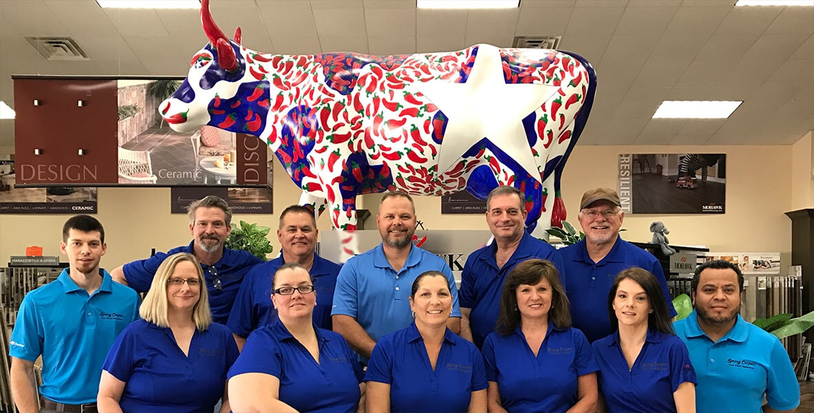 Your Flooring Team at Spring Carpets, Spring & Tomball TX