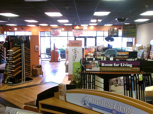 Carpet Showroom in Maryville TN from Johnson & Sons Flooring