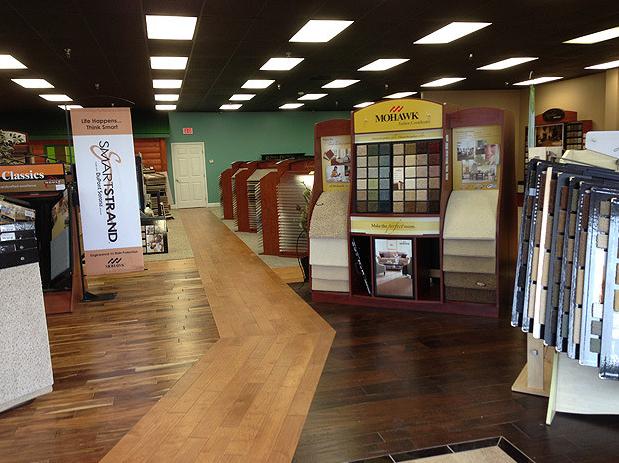 Flooring Showroom in Tellico Village TN from Johnson & Sons Flooring