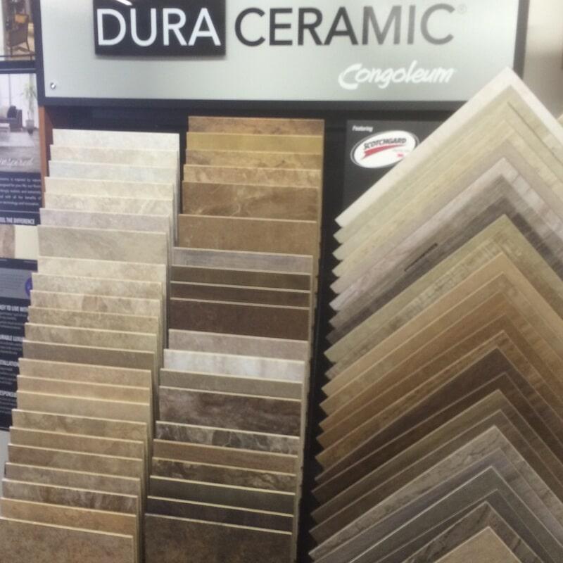 Vinyl flooring samples in New Lexington OH from Lavy's Flooring