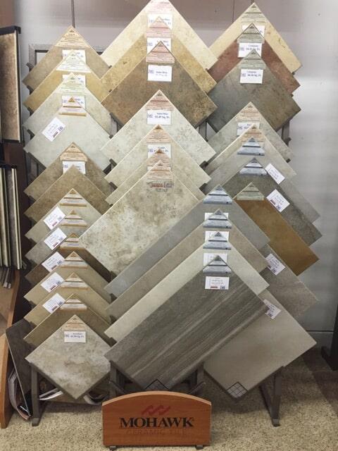 Luxury Vinyl Flooring samples in Crooksville OH from Lavy's Flooring