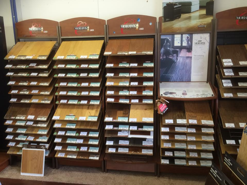 Hardwood floor samples in Zanesville OH from Lavy's Flooring