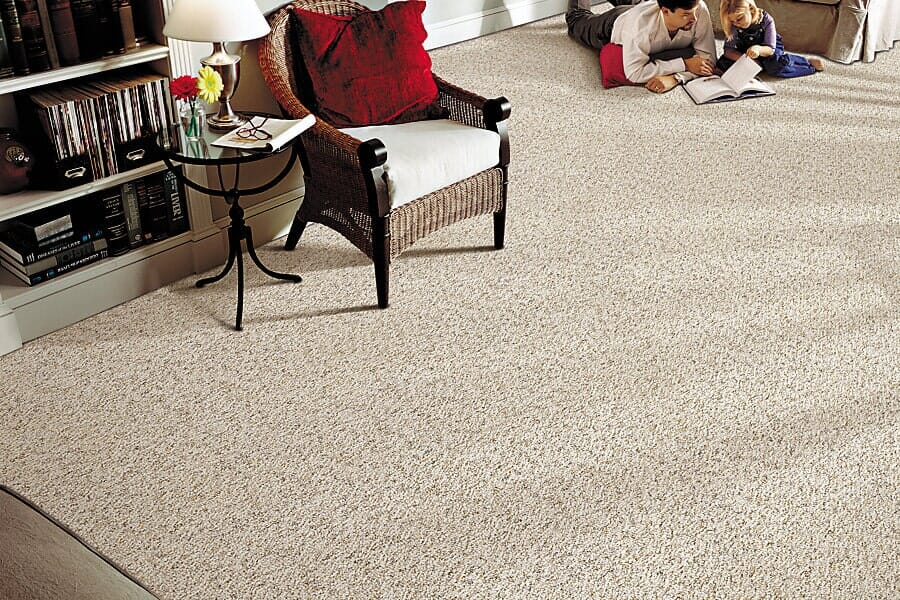 Luxury wool carpet in Durham NC from Bell's Carpets & Floors