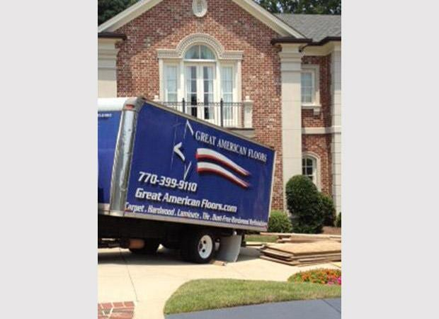 Delivery from Great American Floors Atlanta & Norcross GA