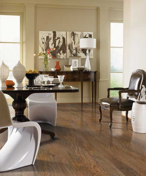 Modern hardwood floors in Hazel Green AL from One on One Flooring