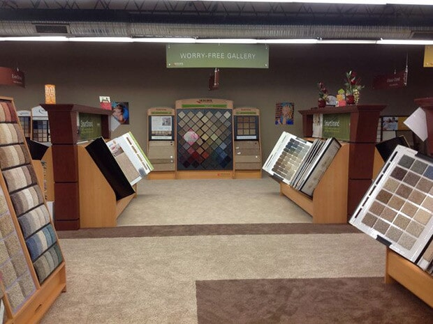 Showroom in Anna IL from L & P Carpet