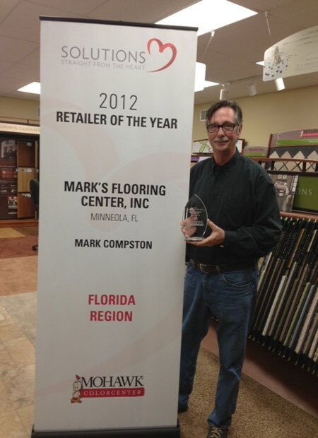2012 Solutions Retailer of the year - Mark's Floors