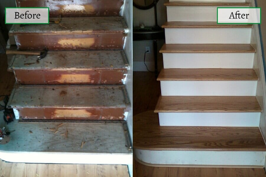 Our work in Ocean City, NJ from Mainland Flooring