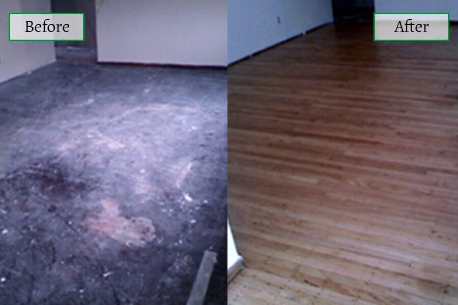 Our work in Longport, NJ from Mainland Flooring