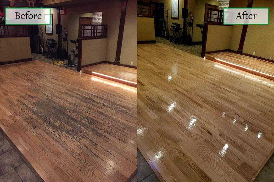 Our work in Pleasantville, NJ from Mainland Flooring