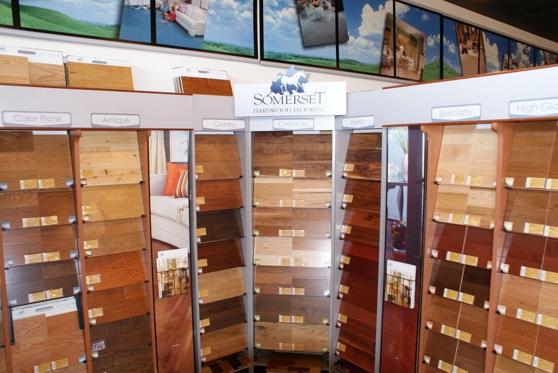 Luxury vinyl floor store near Middletown NJ - Carpets & More