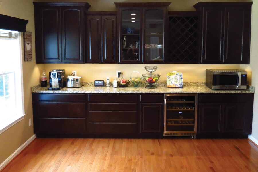 Kitchen remodeling in Leonardtown, MD by Southern Maryland Kitchen, Bath, Floors & Design