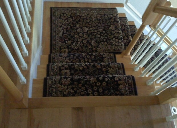 Carpet stair runner in Lagrangeville NY from Personal Touch Flooring