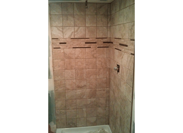 Custom tile bathroom installation in Poughkeepsie NY from Personal Touch Flooring