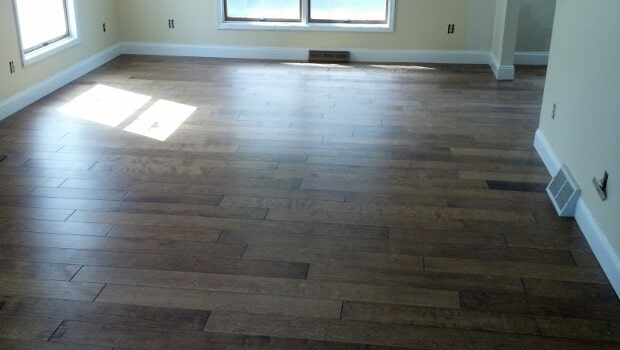 Hardwood floor installation in Poughkeepsie NY from Personal Touch Flooring