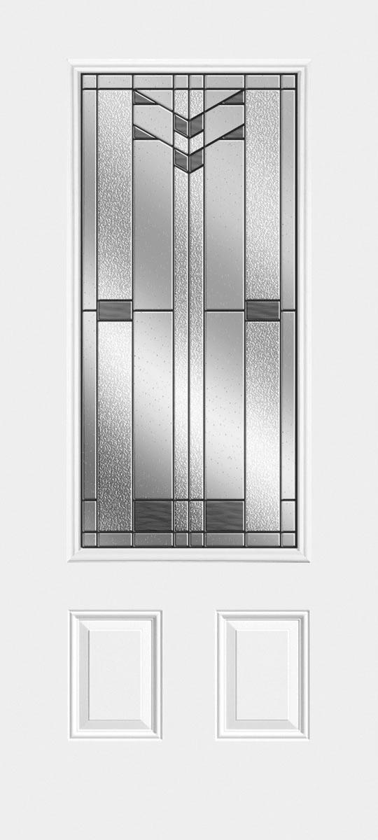 Sta Tru HD 2 Panel Door Lite with Frontier Glass