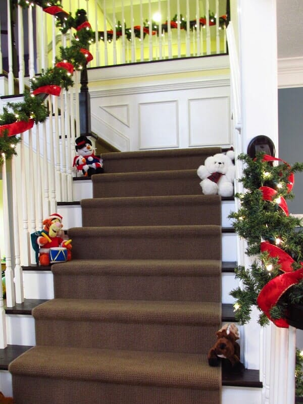 Custom stair runners in Irondequoit NY by Christian Flooring