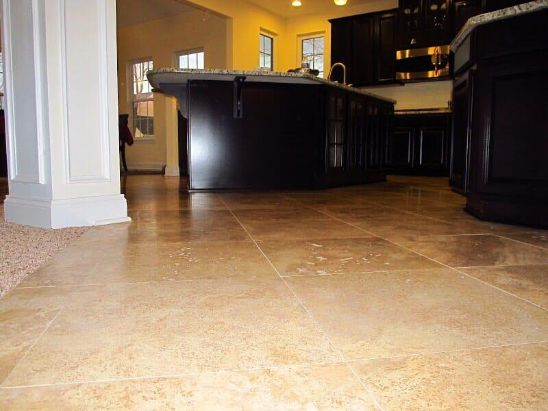Ceramic tile flooring in Spencerport NY by Christian Flooring