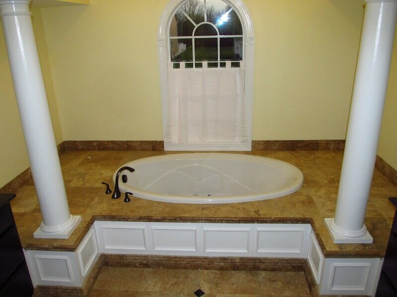 Custom tile bathrooms in Webster NY by Christian Flooring