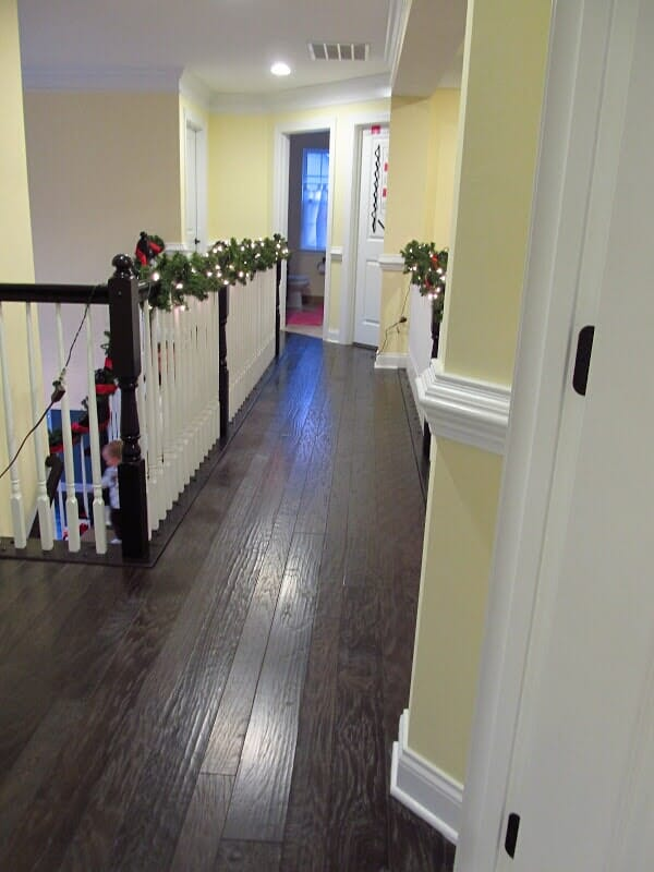 Wood floor installation in Spencerport NY by Christian Flooring