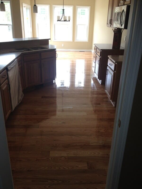 Hardwood floor installation in Greece NY by Christian Flooring