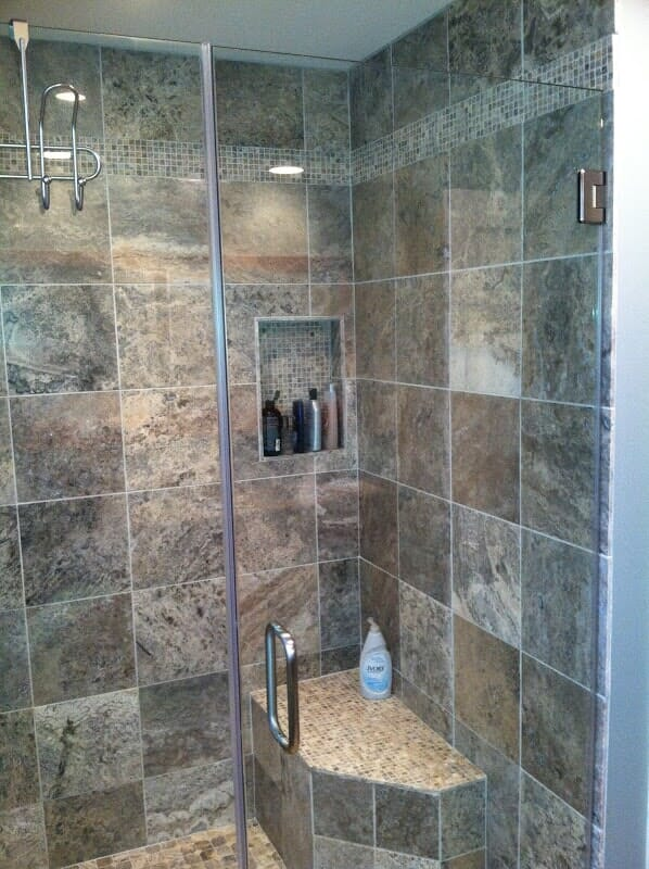 Tile bathroom remodeling in ROchester NY by Christian Flooring