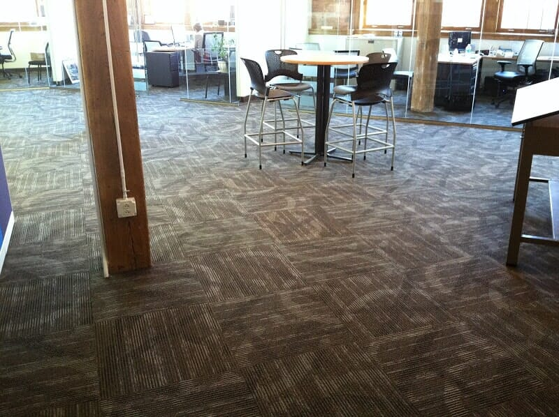 Office carpet tiles in Rochester NY by Christian Flooring