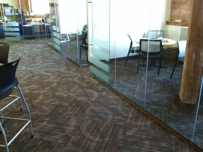 Commercial carpet tile for offices in Greece NY by Christian Flooring