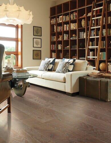 Hardwood flooring from Vern's Carpet near Fertile MN