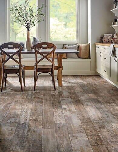 Vinyl flooring from Vern's Carpet near Grand Forks MN