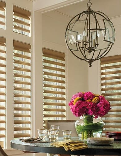 Window Treatments from Vern's Carpet