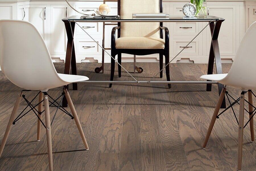 Hardwood floor from Vern's Carpet near Fargo MN
