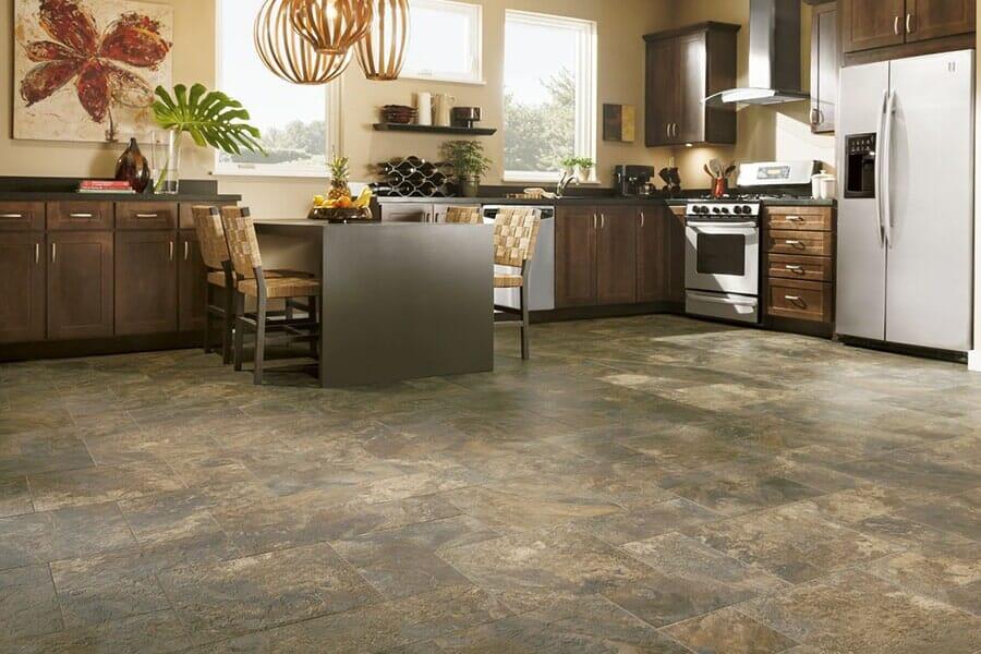 Luxury Vinyl plank flooring from Vern's Carpet near Grand Forks MN
