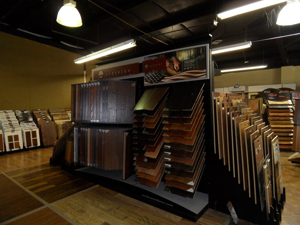 Wide variety of flooring samples in Hartselle AL from Alabama Custom Flooring & Design