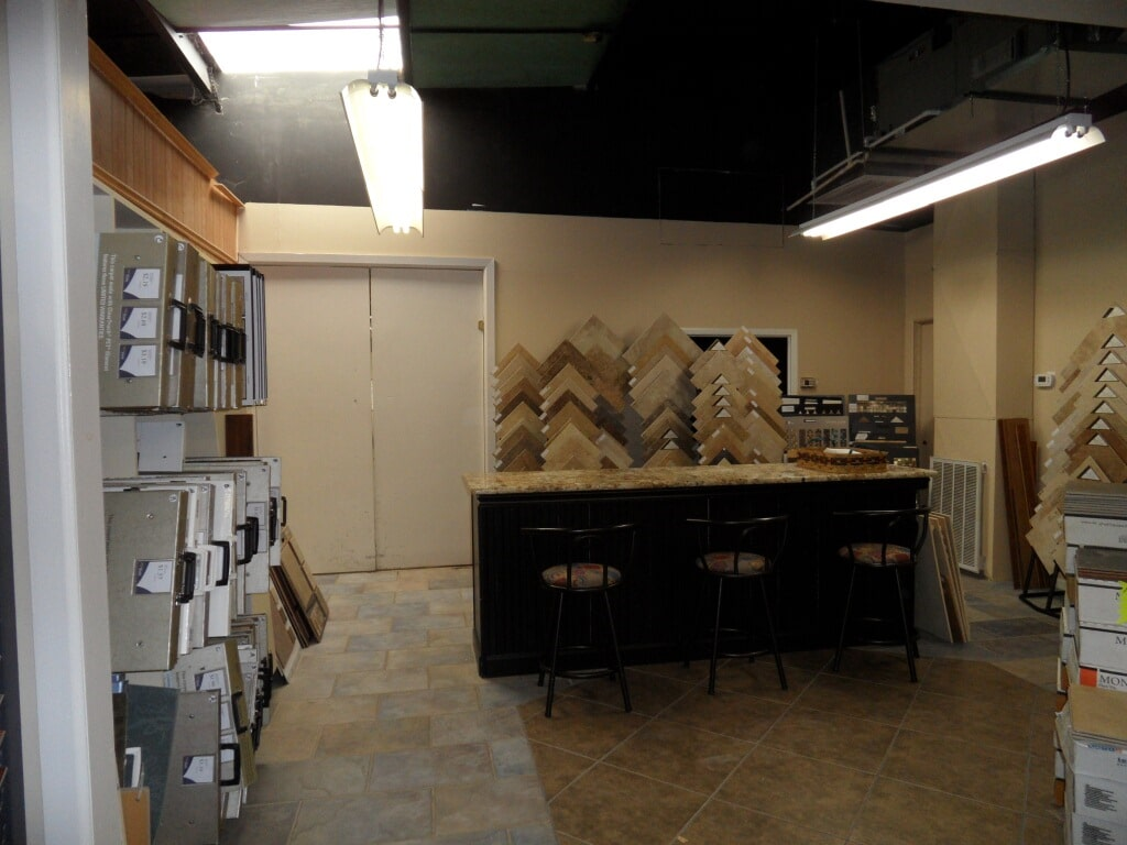 Floor showroom in Hartselle AL from Alabama Custom Flooring & Design