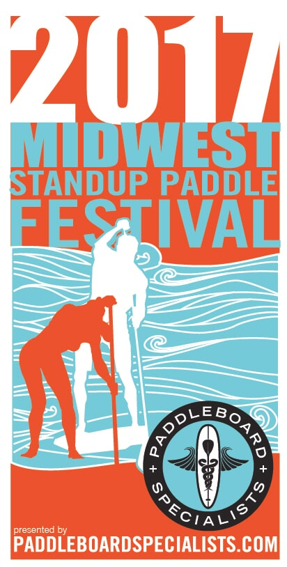 2017 Midwest Standup Paddle Festival Logo