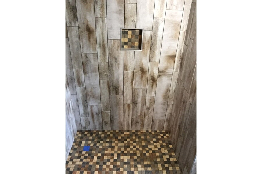 Custom Tile Shower by Legate's Furniture World Store near Dawson Springs KY