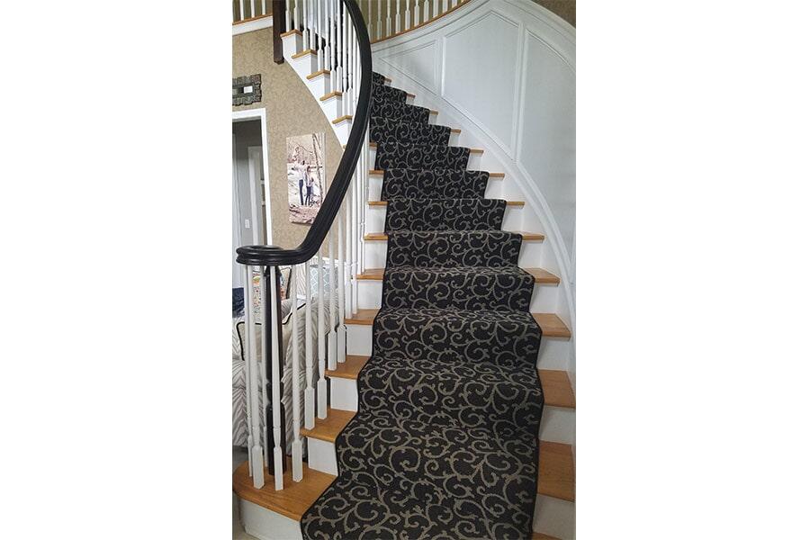 Carpet Stairs Sample
