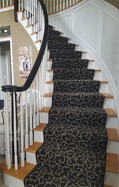 Carped Stairwell Sample
