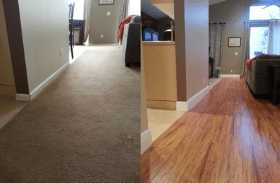 Flooring remodeling from Capitol Carpet & Tile and Window Fashions in Boynton Beach, FL
