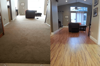 Flooring remodeling from Capitol Carpet & Tile and Window Fashions in Wellington, FL