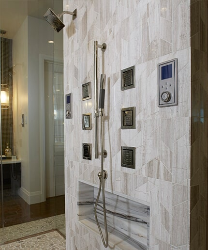 Custom showers in Madisonville KY by Legate's Furniture World