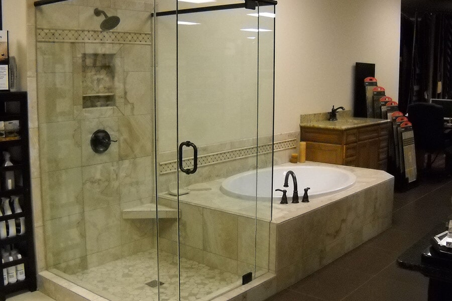 Luxury tile showers in Kennesaw GA from Enhance Floors & More