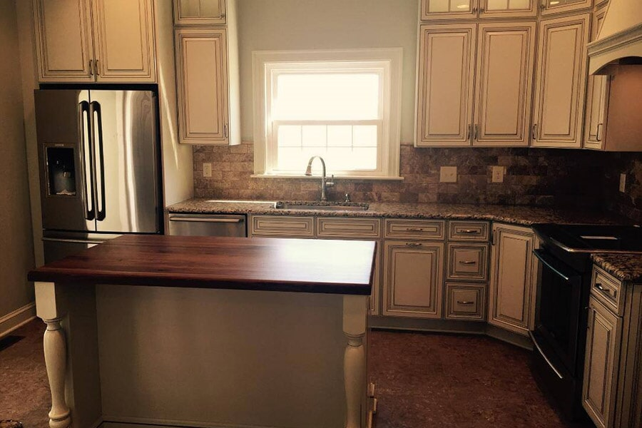 Kitchen Renovations by Richie Ballance Flooring & Tile in Wilson NC