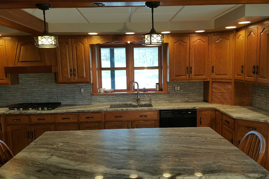 Kitchen tile in Zanesville OH from Lavy's Flooring
