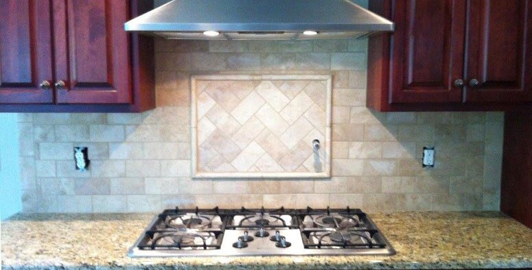 Kitchen backsplash in Akron OH from Barrington Carpet & Flooring Design