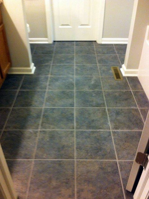 Green tile in Uniontown OH from Barrington Carpet & Flooring Design